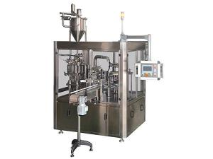 Rotary Filling and Sealing Machine for Dual Cups
